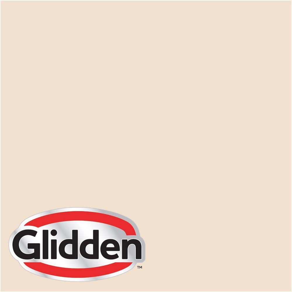 Glidden Premium 5 gal. #HDGWN16 Porcelain Peach Satin Interior Paint with Primer