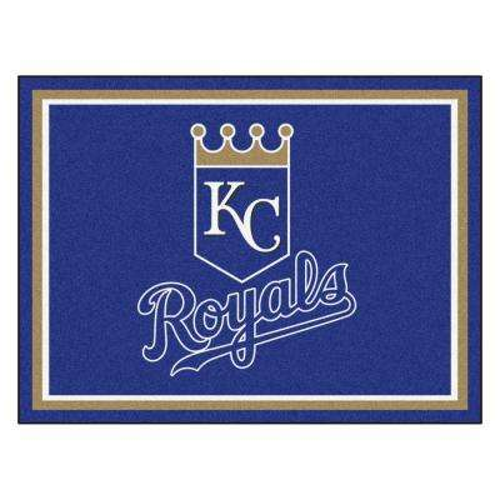 MLB Kansas City Royals Blue 8 Ft X 10 Indoor Area Rug