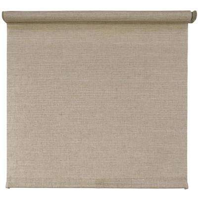 Cut-to-Size Linen Cordless Light Filtering Roller Shades 72 in. W x 72 in. L