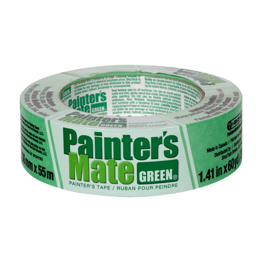 Painter's Mate Green 1.41 in. x 60 yds. Masking Tape