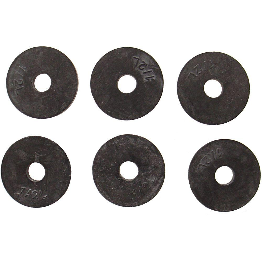 PartsmasterPro 25/32 in. O.D. (1/2L Trade Size) Flat Faucet Washers ...