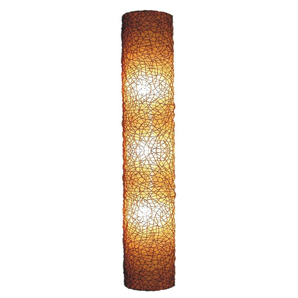 Finest Jeffan Modern 3-Light Amber Half Moon Shaped Wall Sconce with  TZ15