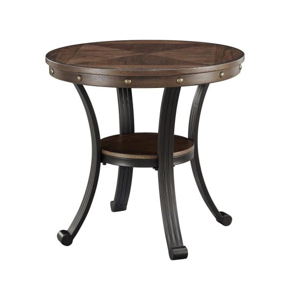 Powell Franklin Oak Side Table 16A8243ST