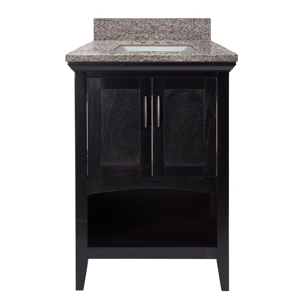 Home Decorators Collection Brattleby 25 in. W x 22 in. D Vanity in ...