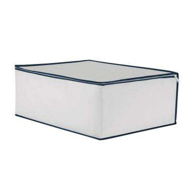 25 in. W x 11 in. H Light Gray Under Bed Storage Unit