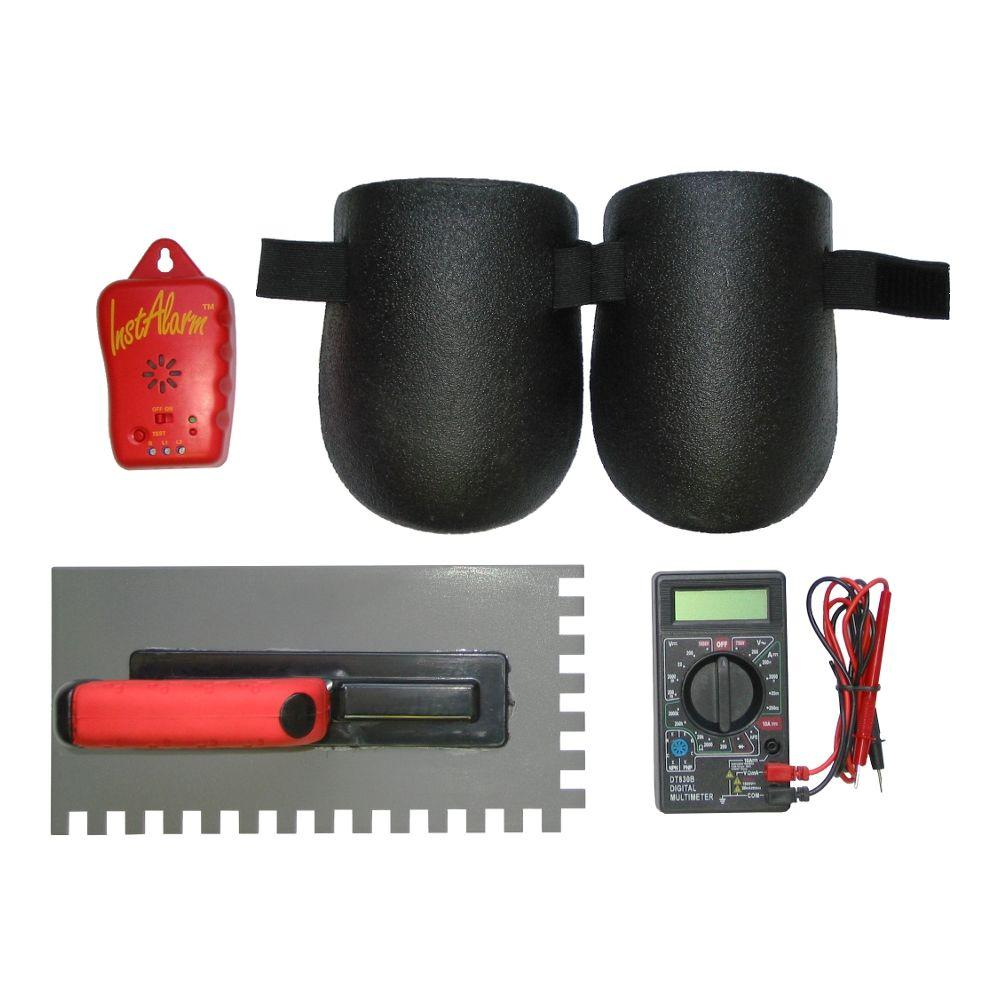 Floor Heating System Installation Tool Kit with 1/2 in. x 3/8