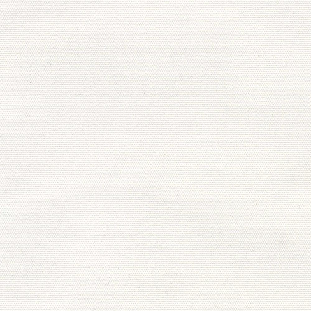 Ridge Falls Canvas White Patio Ottoman Slipcover (2-Pack)