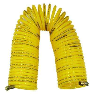 1/4 in. x 50 ft. Nylon Recoil Air Hose