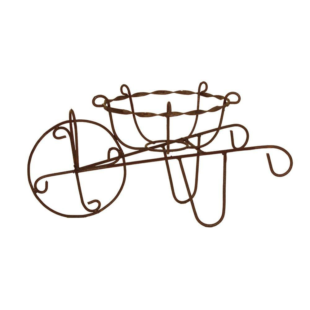 null Mini Wheelbarrow Planter
