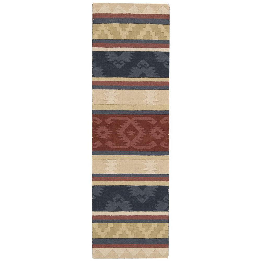 Nourison India House Multicolor 2 ft. 3 in. x 7 ft. 6 in. Rug Runner