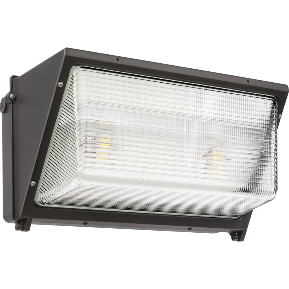 Led Wall Pack 1000bulbs: Lithonia Lighting TWR2 Bronze Outdoor Integrated LED Wall