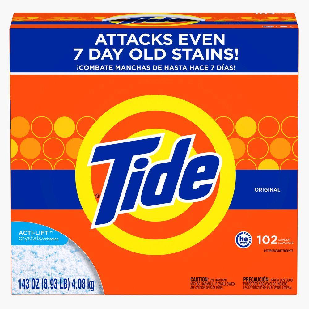 143 oz. Original Scent HEC Powder Laundry Detergent (102 Loads)