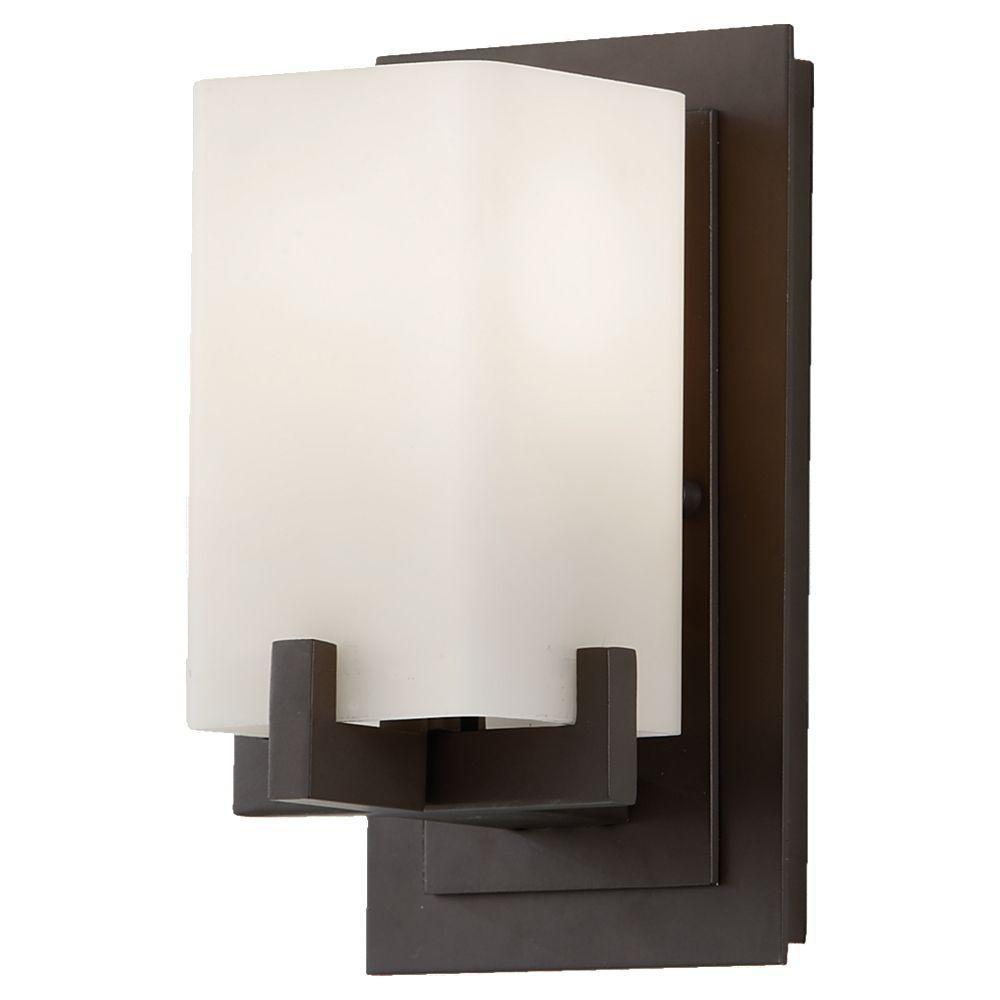 Riva 1-Light Oil Rubbed Bronze Vanity Light