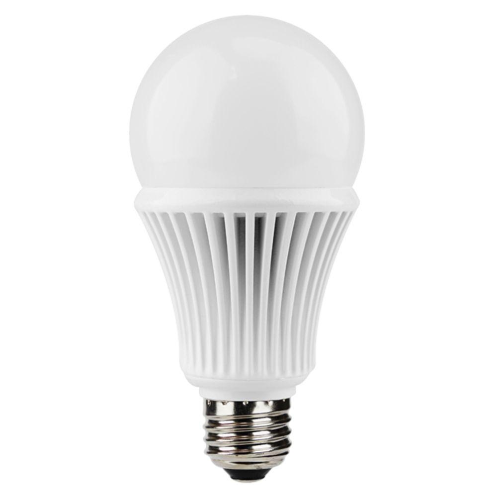 Euri Lighting 60W Equivalent Warm White (3000K) A19 Non-Dimmable LED Light Bulb