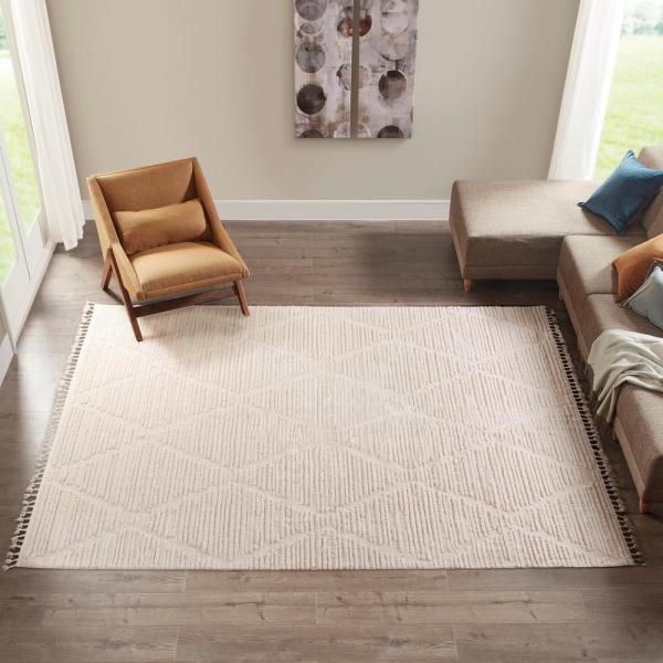 Ink Ivy Terni Grey 8 Ft X 10 Ft Polyester Area Rug Hdds35 022 The Home Depot
