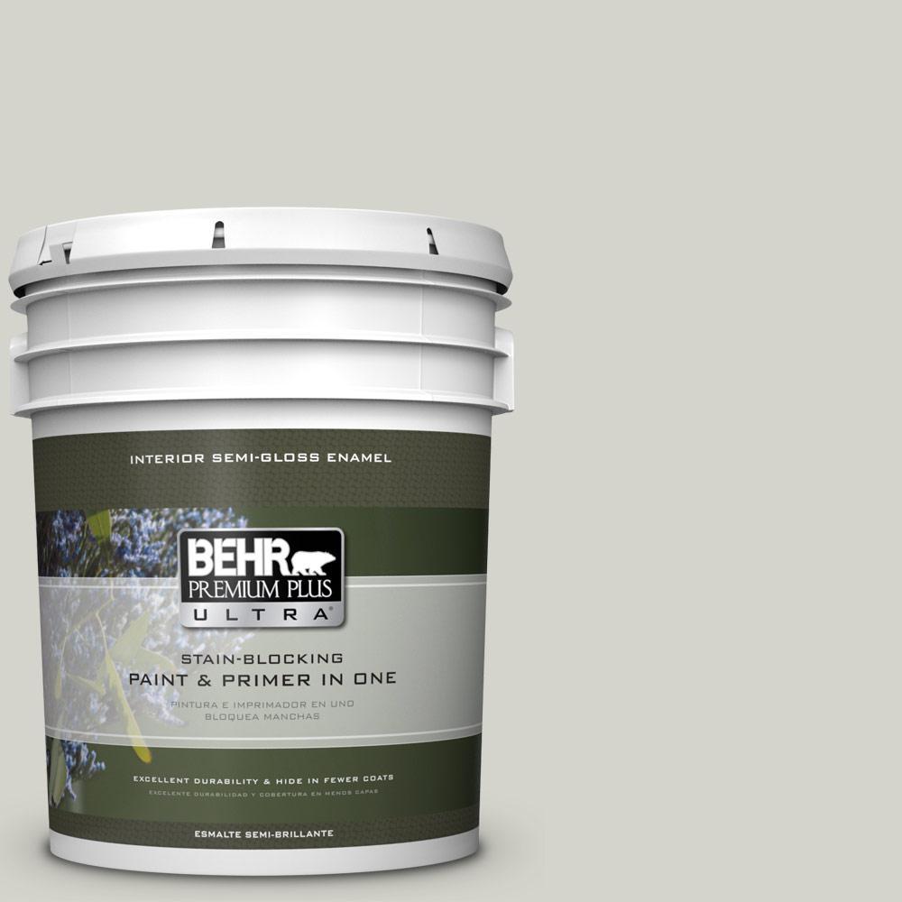 5 gal. #PPU25-10 Soft Secret Semi-Gloss Enamel Interior Paint