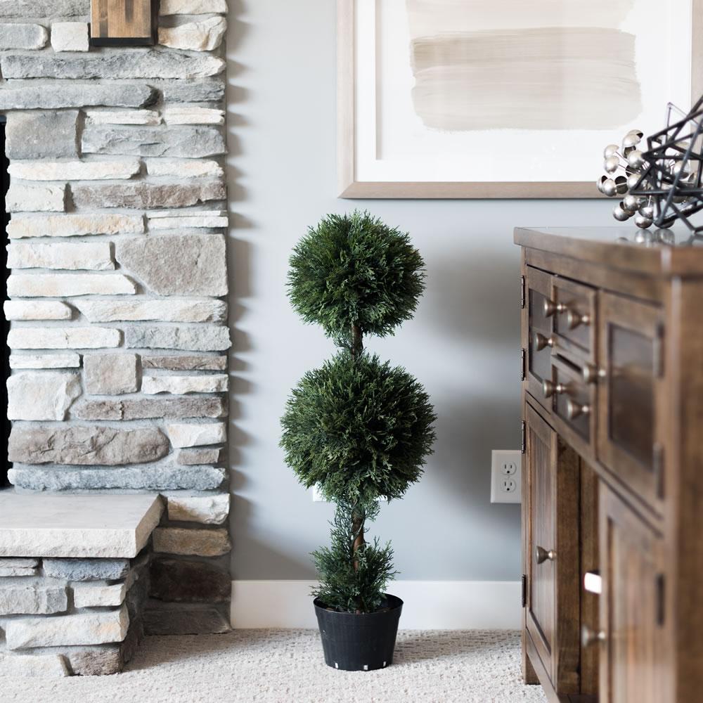 3 ft. Cedar Dbl Balls in Pot (UV)