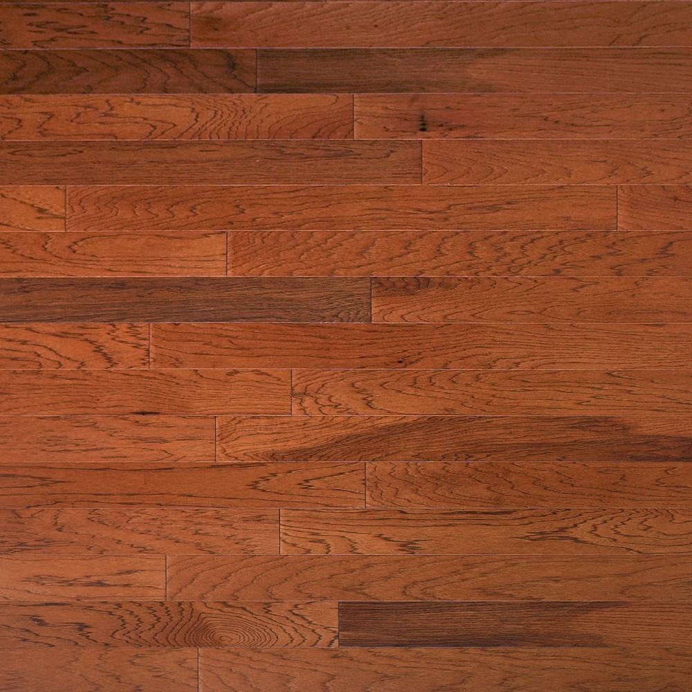 Heritage Mill Take Home Sample - Hickory Leather Engineered Click Hardwood Flooring - 5 in. x 7 in.