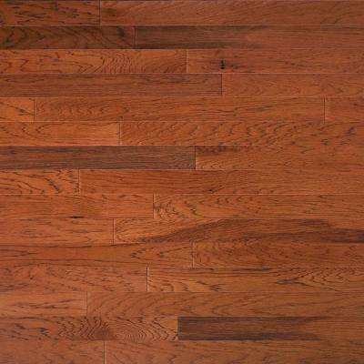 Take Home Sample - Hickory Leather Engineered Click Hardwood Flooring - 5 in. x 7 in.
