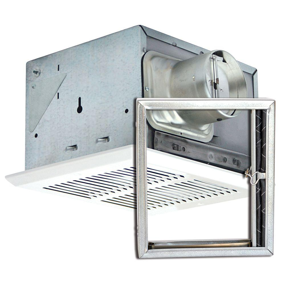 Air King Quiet Fire Rated 100 CFM Ceiling Bathroom Exhaus...
