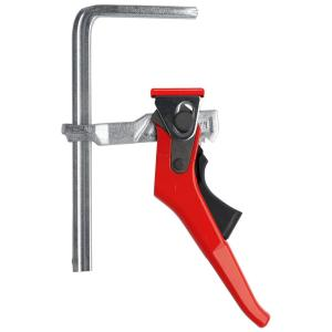 4-11/16 in. Capacity, 2-5/16 in. Throat Depth 540 lbs. Clamping Force Ratchet Action Lever Clamp