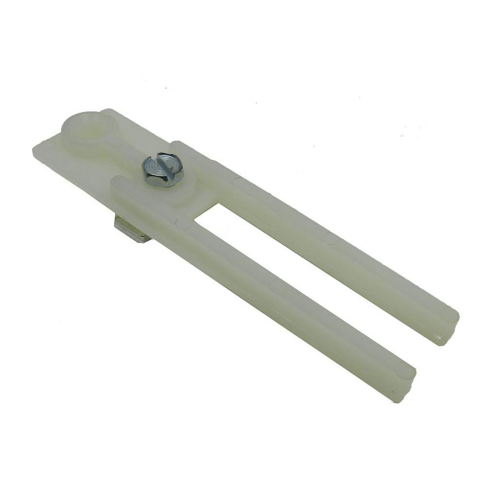 3-1/2 in. Nylon Bi-Fold Door Pivot Bracket