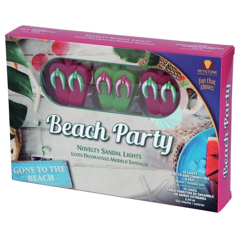 Beach Party 10 Light Novelty String