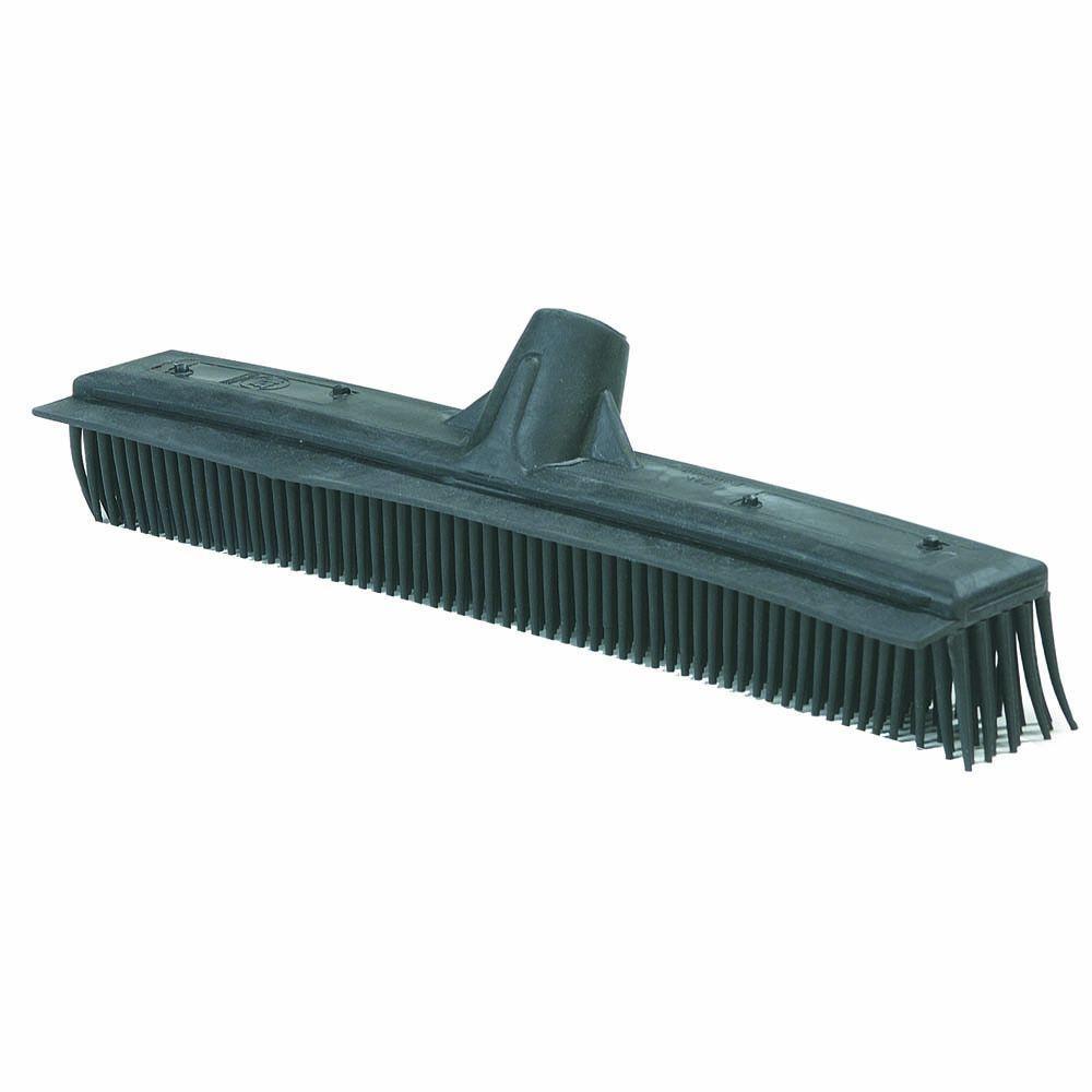 16 in. Black Floor Brush/Squeegee Combo (Case of 12)