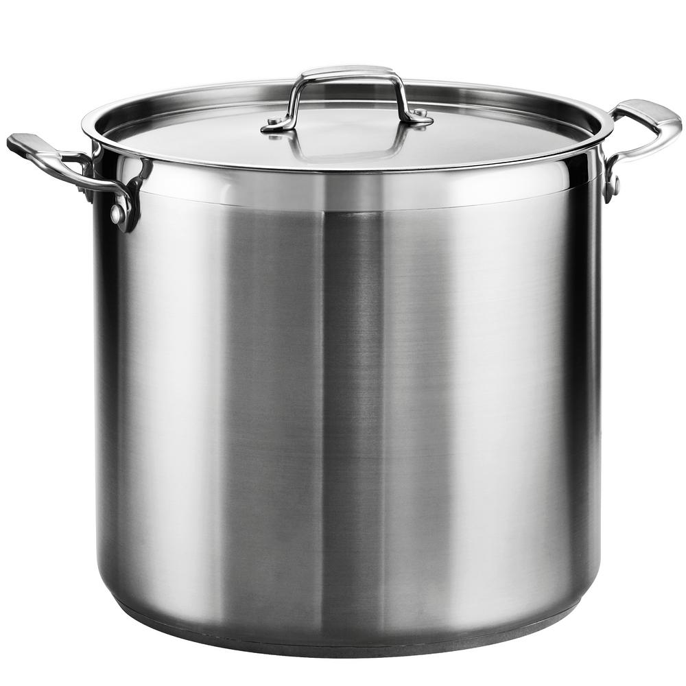 Tramontina Gourmet 24 Qt. Stainless Steel Stock Pot with Lid