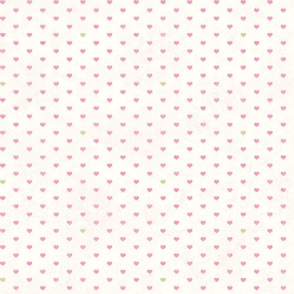 Chesapeake Colby Rose Love Spots Wallpaper Sample HAS01262SAM