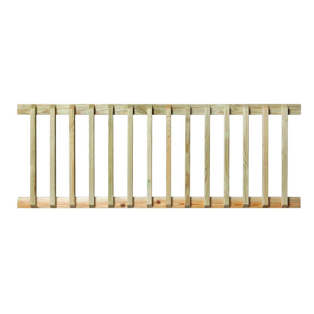 Pressure-Treated 6 ft. Handrail
