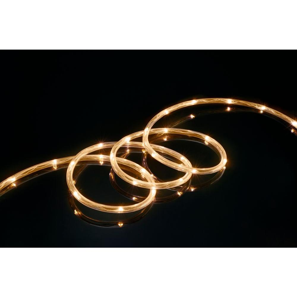 16 ft. Soft White All Occasion Indoor Outdoor LED Mini Rope