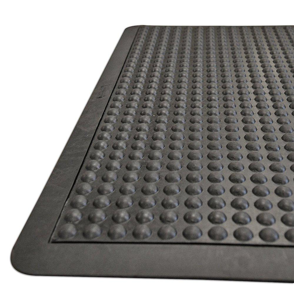 Rubber Floor Mat >> Rubber Cal Bubble Top 5 8 In X 24 In X 36 In Anti Fatigue Floor