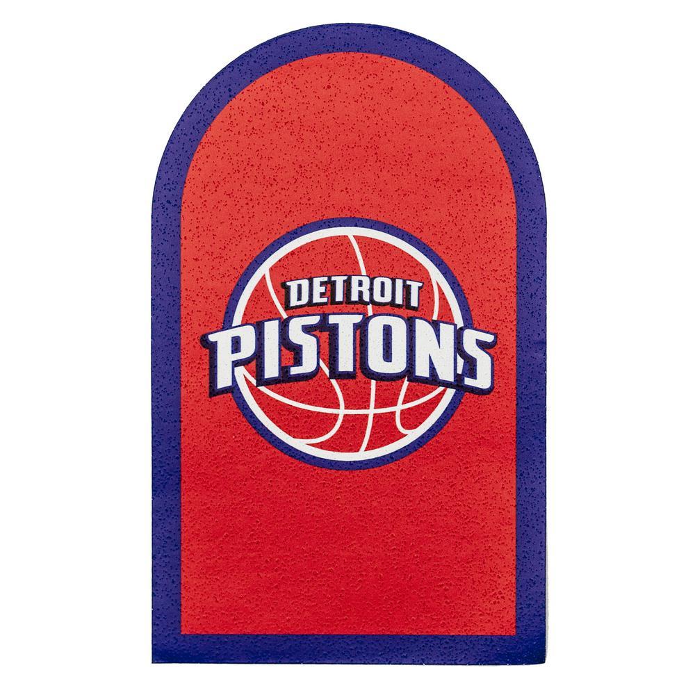 NBA Detroit Pistons Mailbox Door Logo Graphic