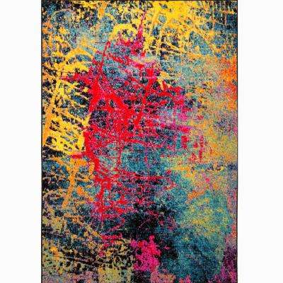 Splash Multi 8 ft. x 10 ft. Indoor Area Rug