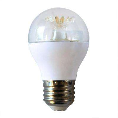 60W Equivalent Daylight A15 Dimmable Clear LED Light Bulb (3-Pack)