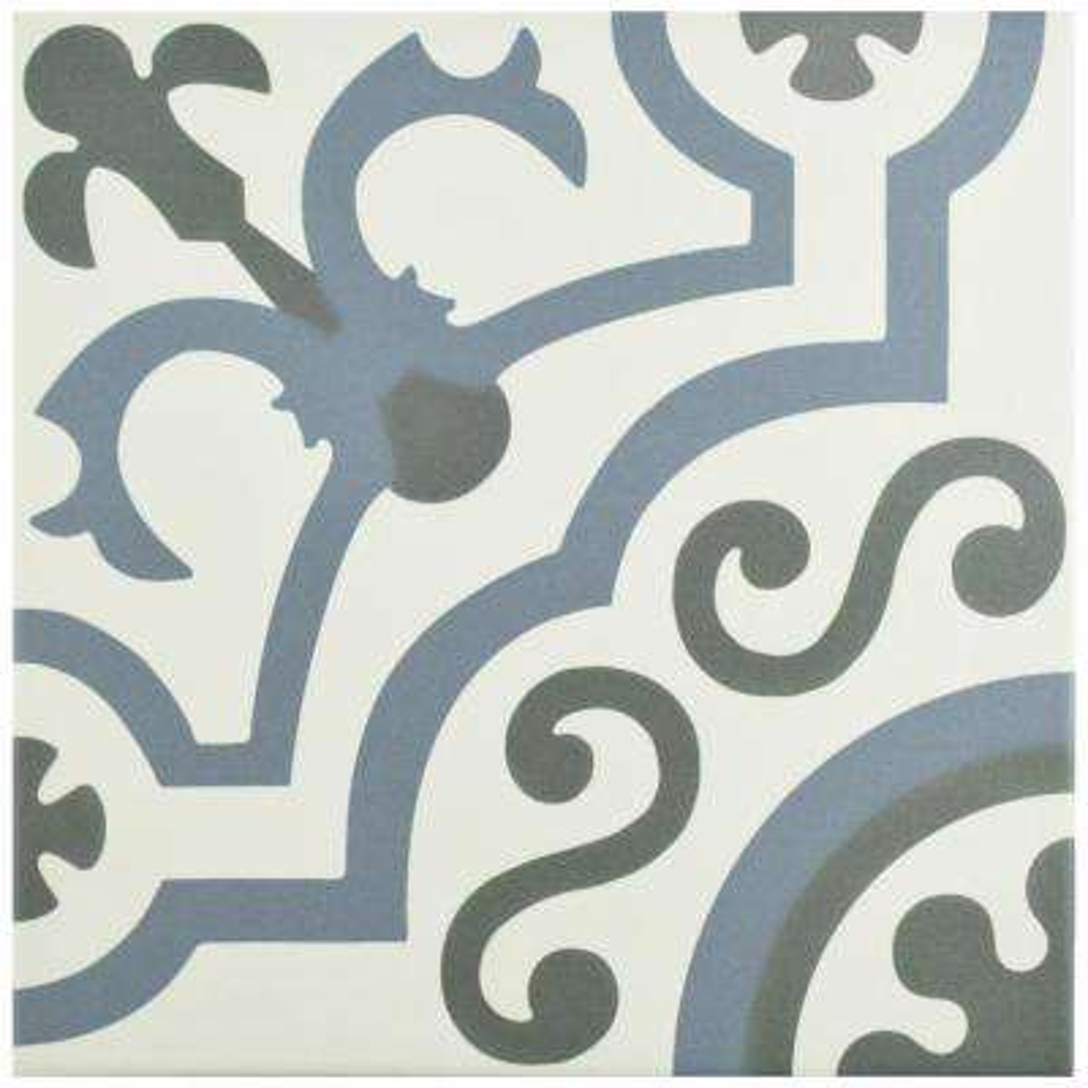 Hidraulico Ducados Encaustic 9-3/4 in. x 9-3/4 in. Porcelain Floor and Wall Tile (10.76 sq. ft. / case)