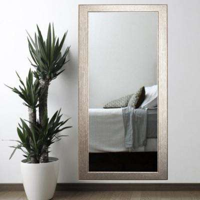 Subway Silver Tall Framed Mirror