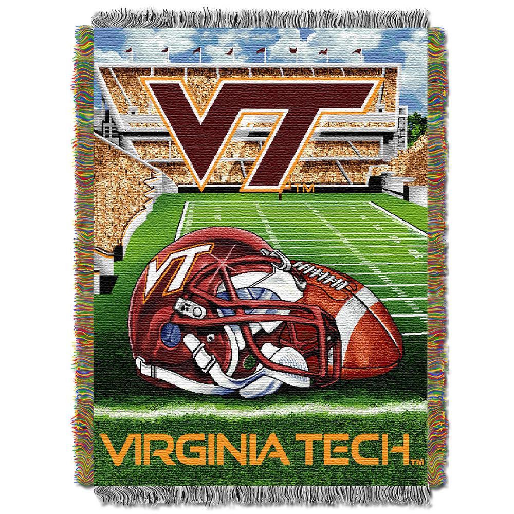 buy online 2068b d3f6e HFA Tapestry Virginia Tech Multi Color Throw