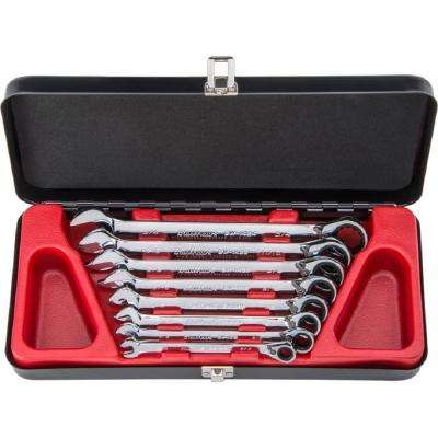 Reversible Ratcheting Wrench Set (8-Piece)