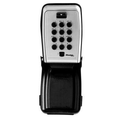 5423D 7.9 cu in. Set Your Own Combination Wall Mount Push Button Lock Box