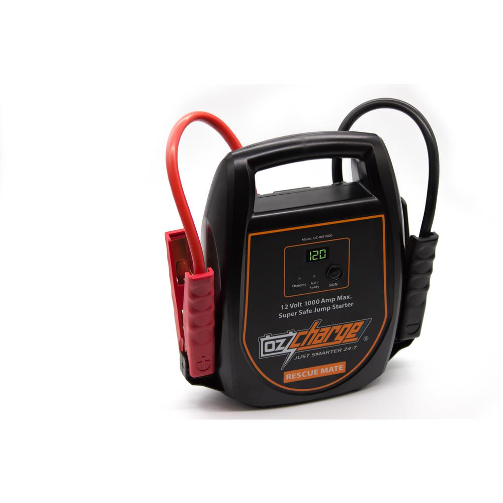12-Volt Super Capacitor Jump Starter Never Needs Recharging Like Lithium Jump