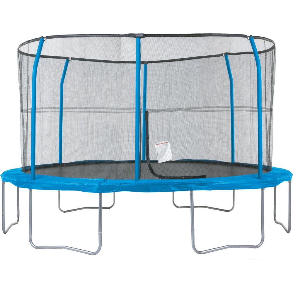 JUMPKING 13 ft. Trampoline and Enclosure System (6-Legs/6-Poles)