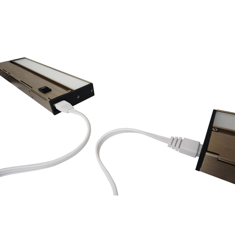 Armacost Lighting White Ribbonflex Pro Surelock Led Tape Light House Wiring For Under Cabinet Free Download Jumper Linkable Undercabinet Lights