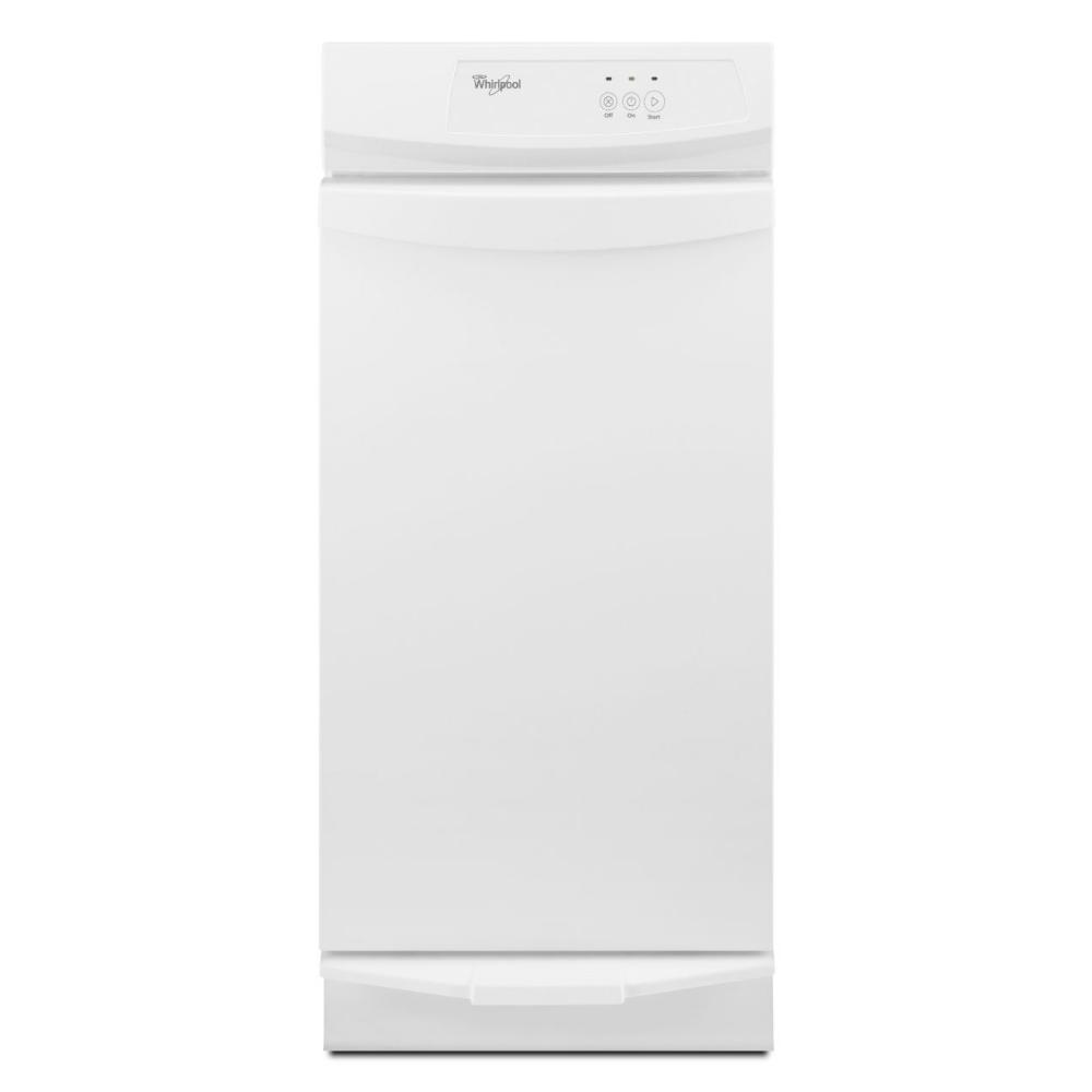 Whirlpool 15 in. Convertible Trash Compactor in White