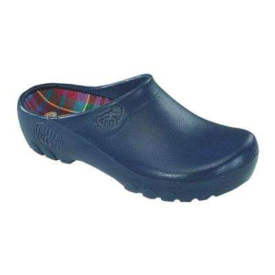 Men's Navy Blue Garden Clogs - Size 8