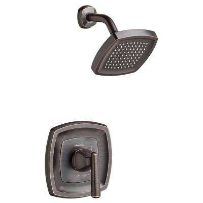 Edgemere 1-Handle 2.5 GPM Tub and Shower Faucet Trim Kit in Legacy Bronze (Valve Not Included)