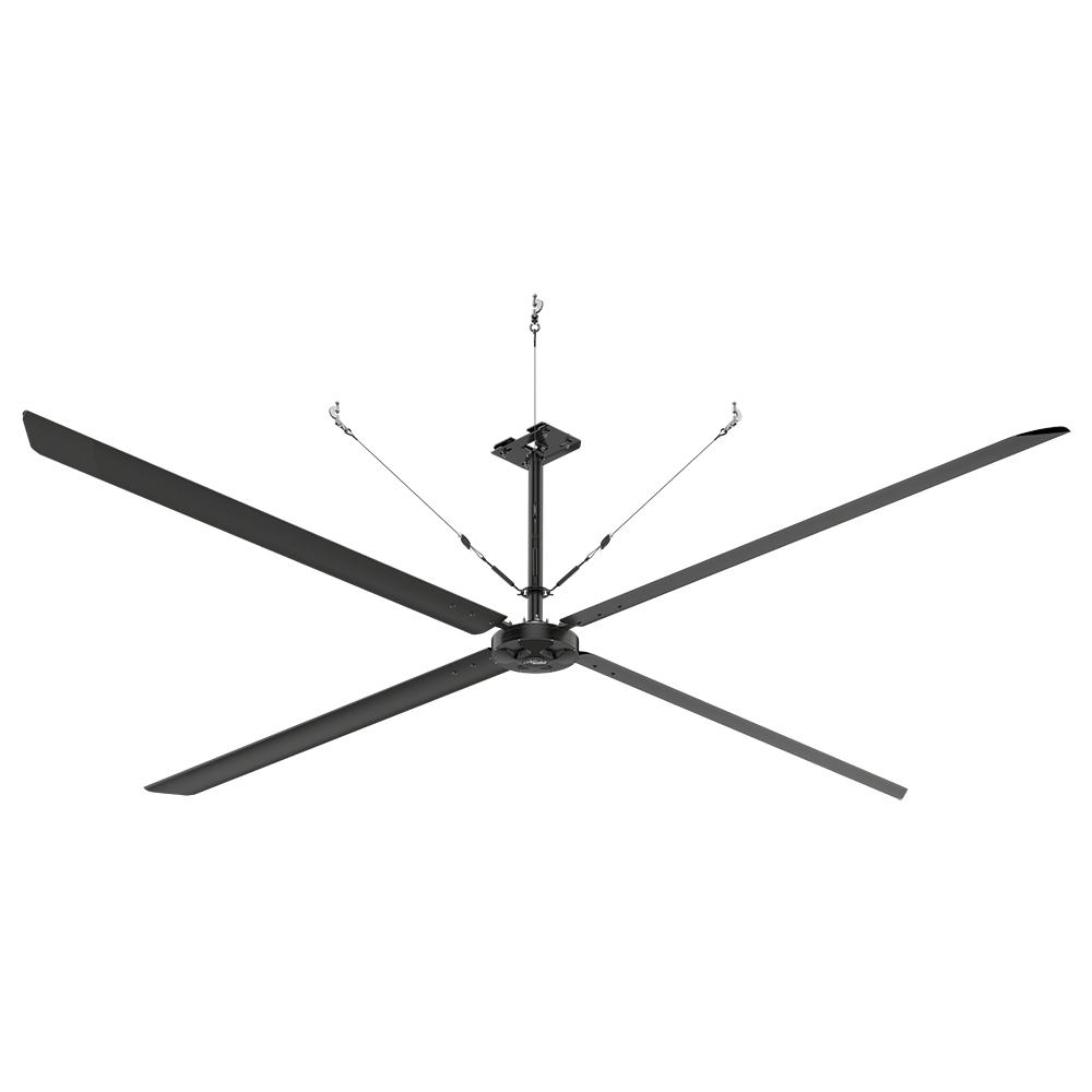 Hunter industrial eco 18 ft indoor black anodized aluminum hunter industrial eco 18 ft indoor black anodized aluminum commercial ceiling fan aloadofball
