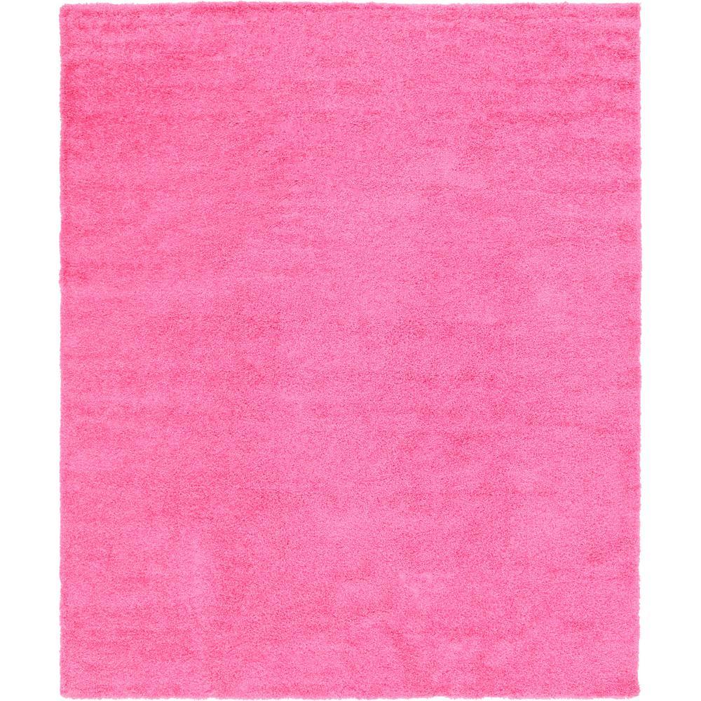 Solid Shag Taffy Pink 12' x 15' Rug
