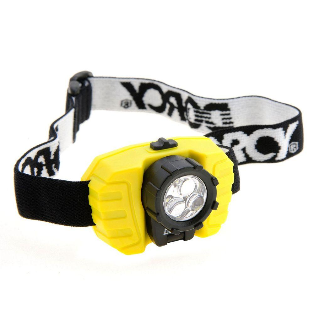 Dorcy 3AAA 3 LED Headlight with Battery